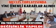 Haziran ayı belediye meclis toplantısı yapıldı