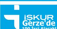 İŞKUR Gerze'de 100 işçi alacak