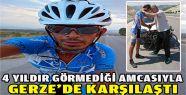 İzmirli bisikletçi 4 yıldır görmediği...