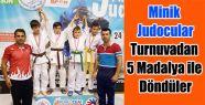 Judocular 5 Madalya ile Döndüler