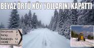 Kar Dolayısıyla Kapanan Yollar Açıldı