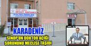 KARADENİZ SİNOP'UN DOKTOR AÇIĞI SORUNUNU...