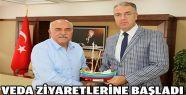 Kaymakam Bülent Bayraktar ilk veda ziyaretini...