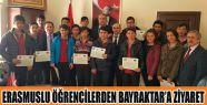 Kaymakam Bülent Bayraktar'ı Ziyaret Ettiler