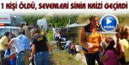 Kaza'da 1 Kişi Hayata Gözlerini Yumdu