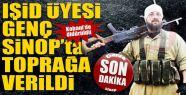 Kobani'de öldürülen IŞİD üyesi Sinop'ta toprağa verildi
