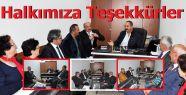 Malum Gösteri Sonrası Gazetemize Ziyaretçi...