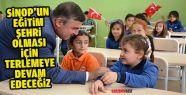 """Maviş: """"Sinop'un Bir Eğitim Şehri Olması..."""