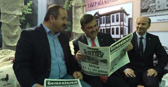 Maviş  ve Aytekin Gazetemize Konuştu