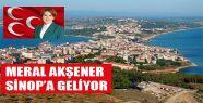 Meral Akşener Sinop'a Geliyor