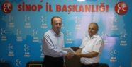 MHP Ayancık İlçe Başkanlığına Yeni Atama Yapıldı
