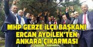 MHP Gerze İlçe Başkanı Devlet Bahçeli'yle...