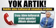 MİLLETVEKİLİ ERSOY'DAN ÖNEMLİ UYARI...!