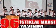 Milli Marşımızın Kabulünün 96. Yılı...