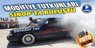 Modifiyeli Araç Tutkunları Sinop'ta Buluştu