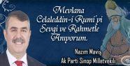 Nazım Maviş, Hz. Mevlana'nın vefatının...
