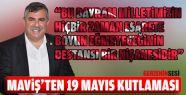 Nazım Maviş'ten 19 Mayıs Kutlama Mesajı