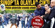 Olaylar Çıktı Polis ile Göstericiler Arasında Arbede Yaşandı