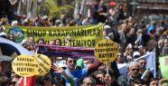 """On binler Sinop'tan """"Nükleere Hayır""""..."""