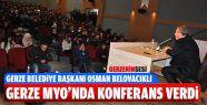 Osman Başkan Gerze Meslek Yüksekokulu'nda