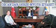 Özcan'dan Öztoprak'a Ziyaret