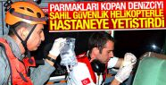 Parmakları Kopan Denizciye Yardım Sinop'tan...