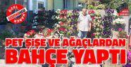 Pet Şişelerden Gerze'nin En Güzel Bahçesini...