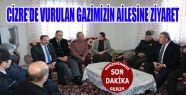 PKK Tarafından Yaralanan Gazimizin Ailesine Ziyaret