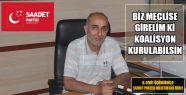 Saadet Partisi Sinop Milletvekili Adayı...