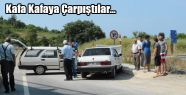 Samsun Sinop Karayolu Üzerinde Trafik Kazası