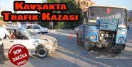 Samsun Sinop karayolu üzerinde trafik kazası...