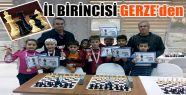 Satranç Turnuvası İl Birincisi Gerze'den