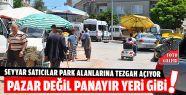 Seyyar Satıcılar Çoğaldı, Park Yeri...