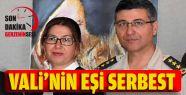Sinop Eski Valisi'nin Eşi Serbest