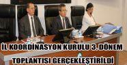 Sinop İl Koordinasyon Kurulu 2016 yılı...