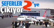 Sinop-İstanbul Uçak Sefer Sayıları Arttırıldı