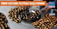 Sinop Kestane Festivali Başlıyor