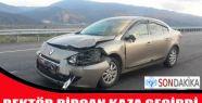 Sinop Üniversitesi Rektörünün makam aracı kaza yaptı