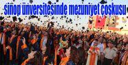 Sinop Üniversitesinde Mezuniyet Sevinci