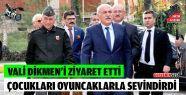 Sinop Valisi Hasan İpek Dikmen'i Ziyaret Etti