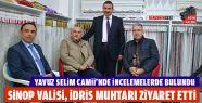 Sinop Valisi, İdris Muhtarı Ziyaret Etti