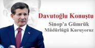 Sinop'a Gümrük Müdürlüğü Kuruluyor