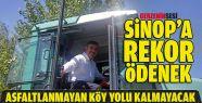 Sinop'a Rekor KÖY-DES Ödeneği