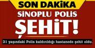 Sinoplu Polis Şırnak'ta Şehit Oldu