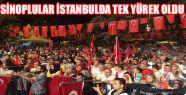 Sinoplular İstanbul'da Darbeye Hayır Dedi