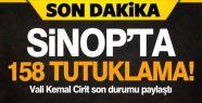 Sinop'ta 158 Kişi Tutuklandı