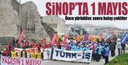 1 Mayıs Sinop'ta böyle kutlandı