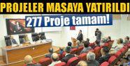 Sinop'ta 748 Proje Üzerinde Çalışıldı