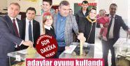 Sinop'ta adaylar oylarını kullandı