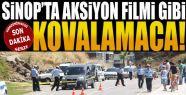 Sinop'ta Aksiyon Filmi Gibi Polis Kovalamacası